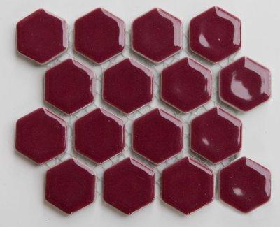 画像1: ヘキサゴン(六角)モザイク 601C