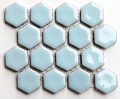 画像1: ヘキサゴン(六角)モザイク 607A