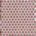 ヘキサゴン(六角)モザイク 630 桃色