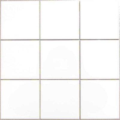 画像1: 100角 陶器質 内装壁 白色ブライト シート貼 P10/S-105