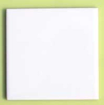 画像2: 150角 陶器質 内装壁 白色ブライト P15/105 バラ