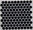 画像1: 27ミリ丸モザイク SA-19 ブラック (1)