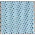 19ミリ丸 モザイク ライトブルー58
