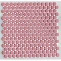 19ミリ丸モザイクタイル ローズ65