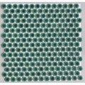19ミリ丸モザイクタイル クロームグリーン68