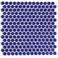 19ミリ丸モザイクタイル ネイビーブルー67