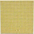 キュートな丸タイル 濃黄色