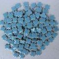 クローバータイル バラ石 パステルライトブルー2B