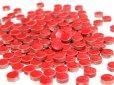 画像3: キュートな丸タイル バラ 赤色 (3)