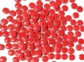 キュートな丸タイル バラ 赤色