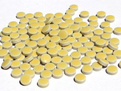 画像2: キュートな丸タイル バラ 黄色