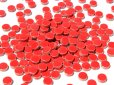 画像2: キュートな丸タイル バラ 赤色 (2)