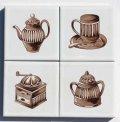 ポイントタイル コーヒー