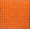 スモークガラスモザイクタイル 20ミリ角  C-76 オレンジ色