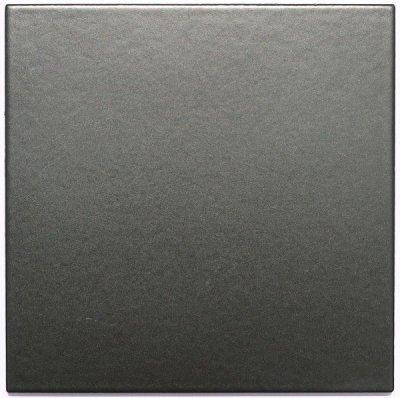 画像1: 150角M-2 磁器質 内外装壁 黒色マット