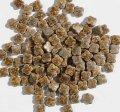 10ミリクローバータイル バラ石 パステル結晶飴色釉 55