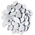 タイル クラフトリーフ 白色 500g バラ石 F610B