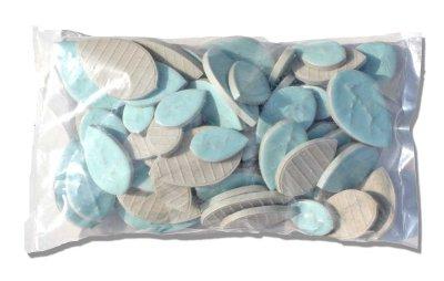 画像2: タイル クラフトリーフ 水浅葱色 500g バラ石 F606A