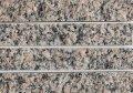 天然御影石 テッセラ小端 シェルピンク502 250×40ミリ