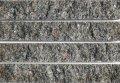天然御影石 テッセラ小端 マホガニー 250×40ミリ