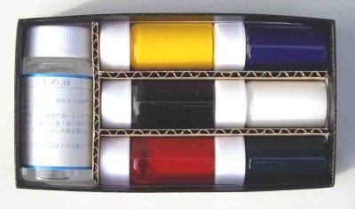 画像2: オーブンで絵付け オーブンカラー(6色セット)混色OK!